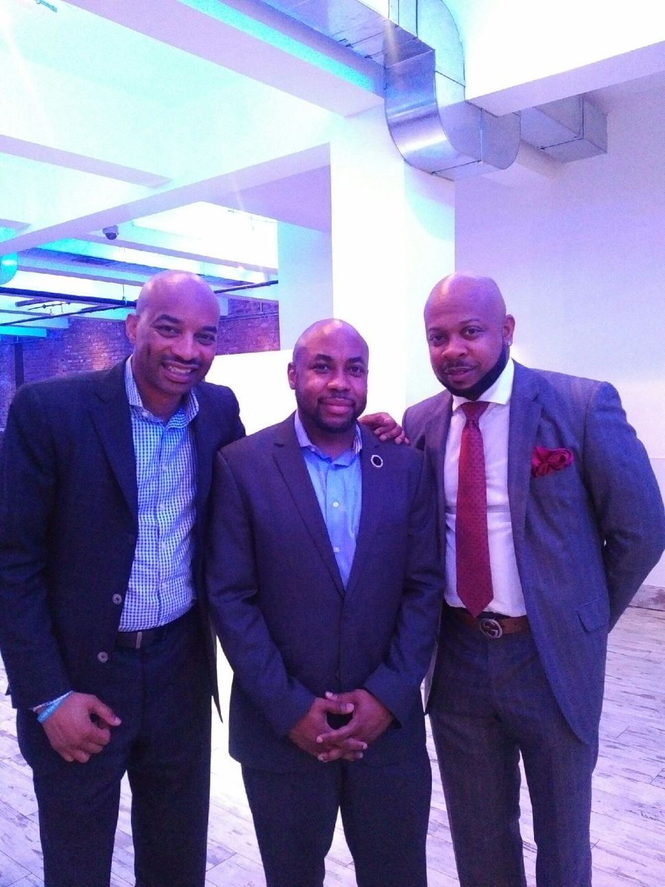 Fromleft: Butler, Balmir and COS Baraka.