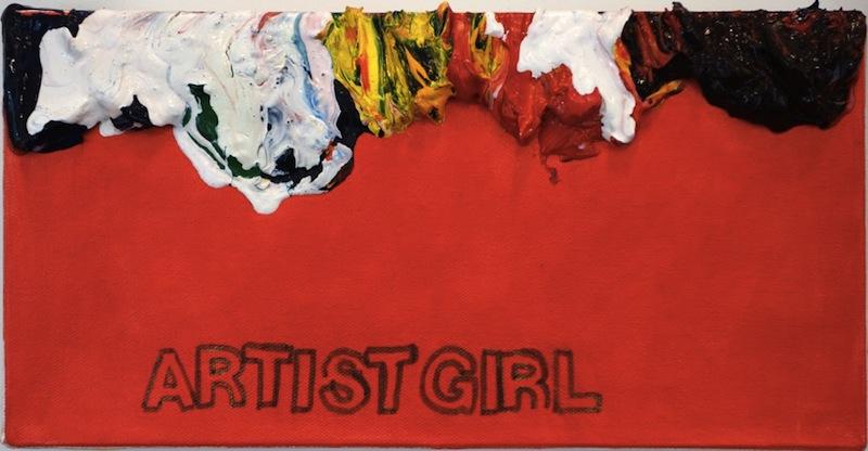 Betty Tompkins, Artistgirl, 2013.