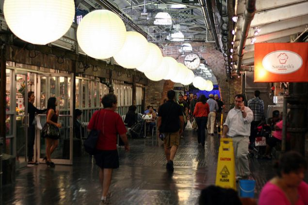 Chelsea Market: getting a lot more retail space. Underground.