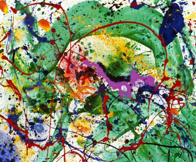 Sam Francis, Untitled, 1989/1990.