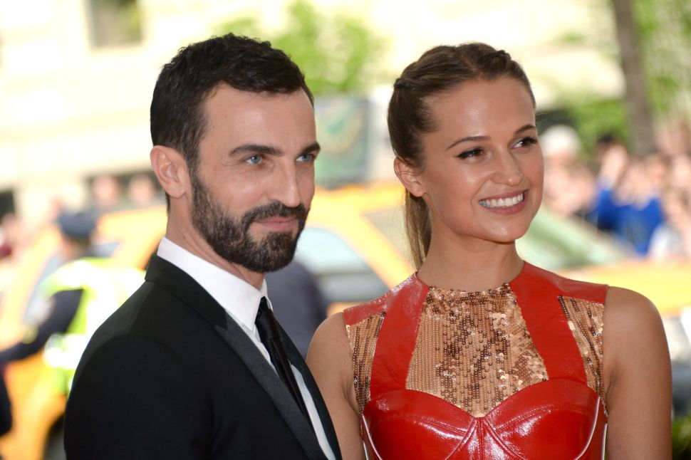 Nicolas Ghesquiere, Alicia Vikander