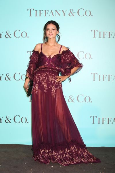 """""""ROME, ITALY - MAY 11: Katy Saunders attends Tiffany & Co. celebration of the opening of its new store in Rome at at Villa Aurelia on May 11, 2016 in Rome, Italy. (Photo by Elisabetta Villa/Getty Images for Tiffany & Co.)"""""""