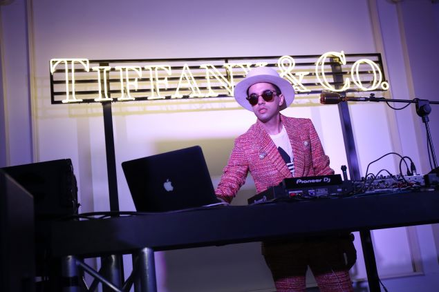 """""""ROME, ITALY - MAY 11: Dj Cassidy performs during the Tiffany & Co. celebration of the opening of its new store in Rome at at Villa Aurelia on May 11, 2016 in Rome, Italy. (Photo by Elisabetta Villa/Getty Images for Tiffany & Co.)"""""""