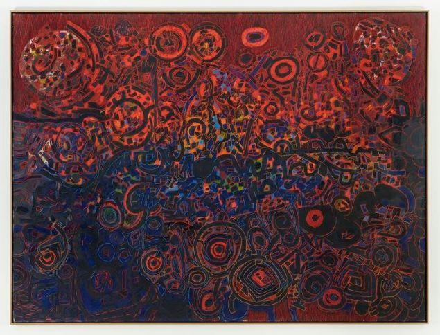 Lee Mullican, Untitled, 1965.