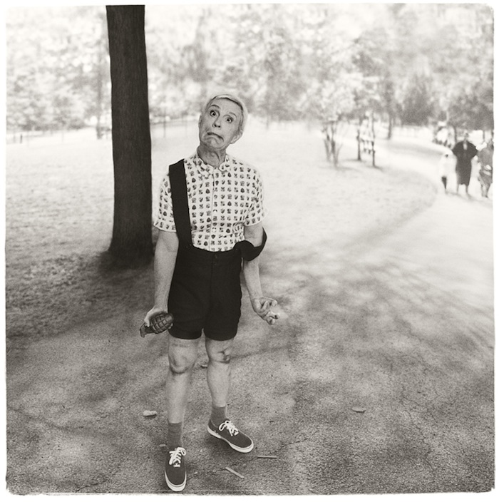 Sandro Miller, Diane Arbus / Child with a Toy Hand Grenade in Central Park, N.Y.C. (1962), 2014.