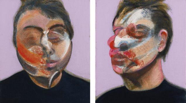Francis Bacon Two Studies for a Self-Portrait, (1970). Estimate $22-30 million.