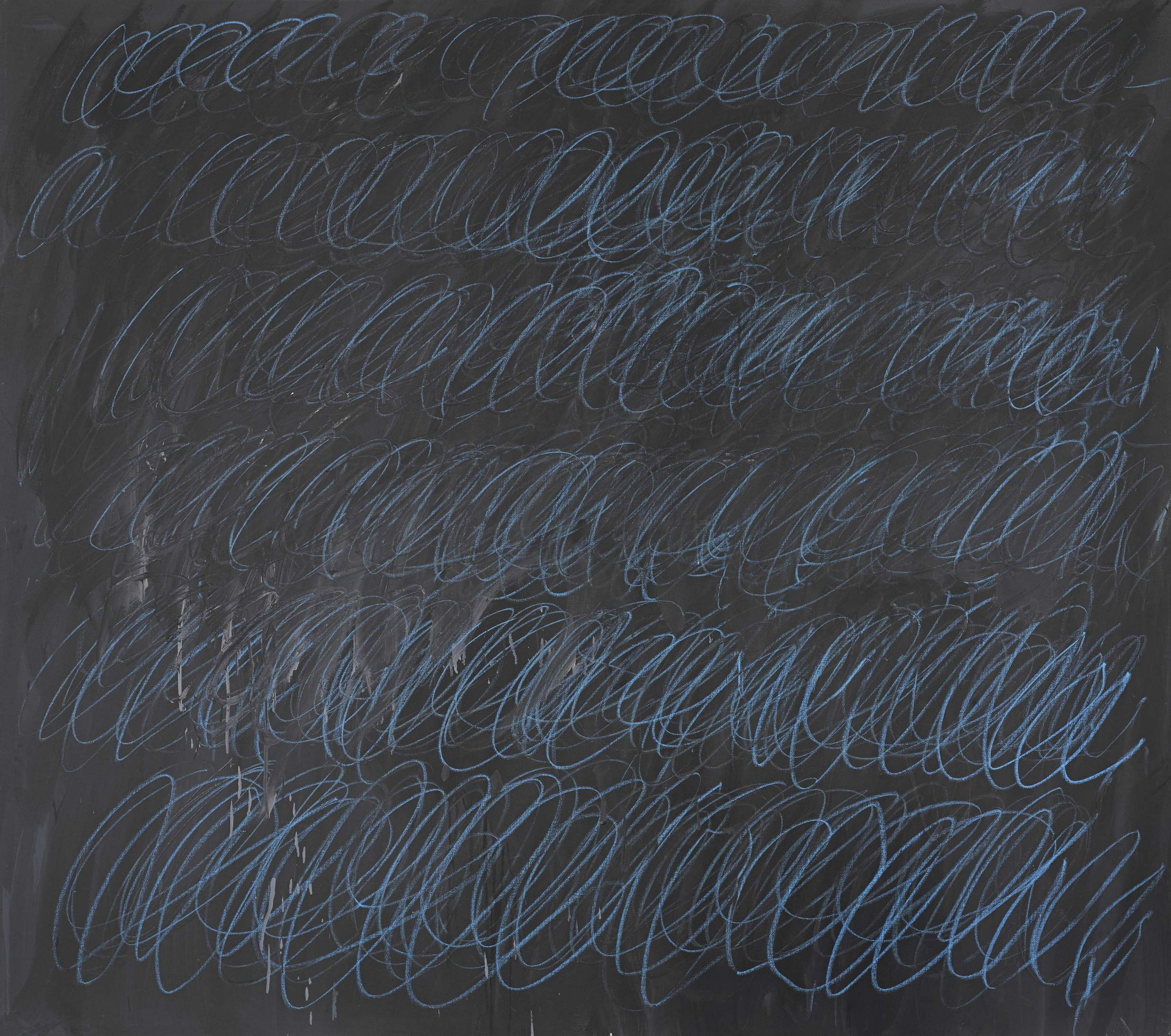 Cy Twombly's Untitled (New York City).