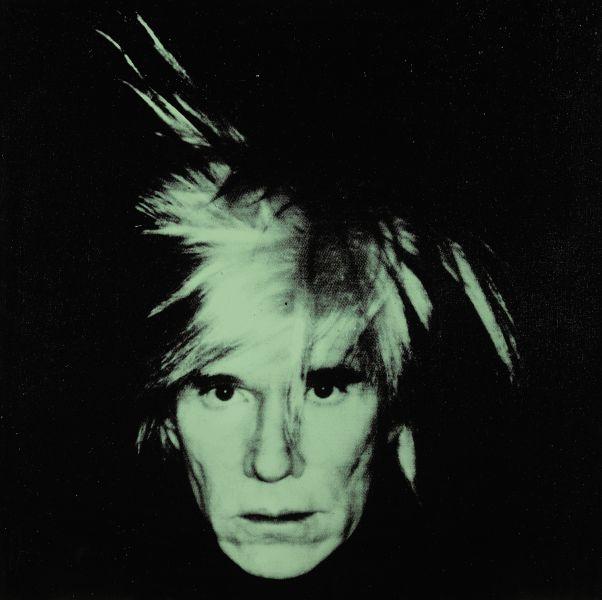 Andy Warhol Self Portrait (Fright Wig), (1986). Est. $7-10 million.