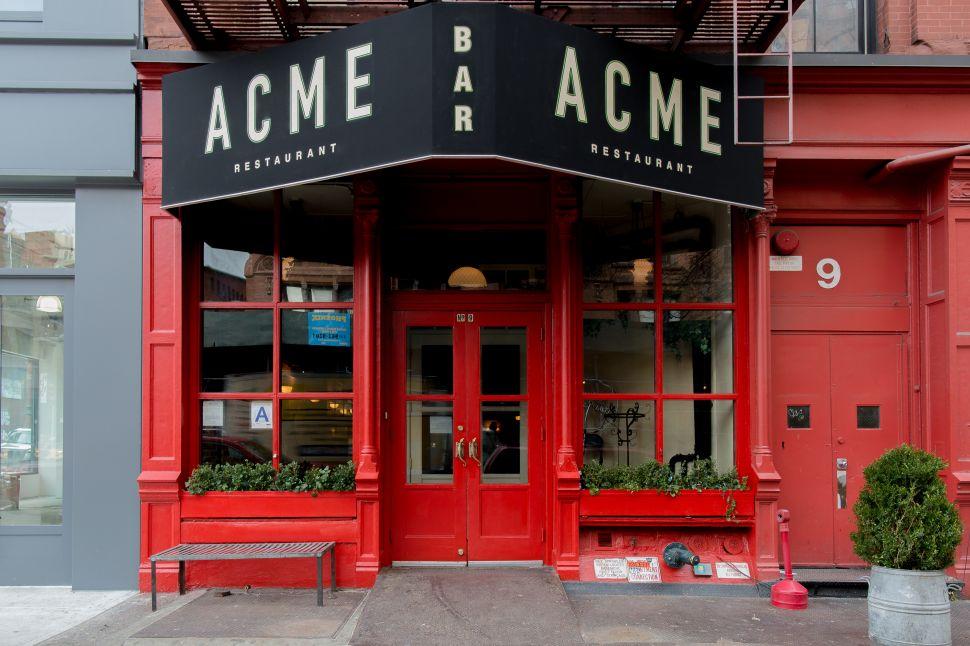 Acme in NoHo