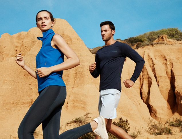 Luxe fitness gear from AEANE