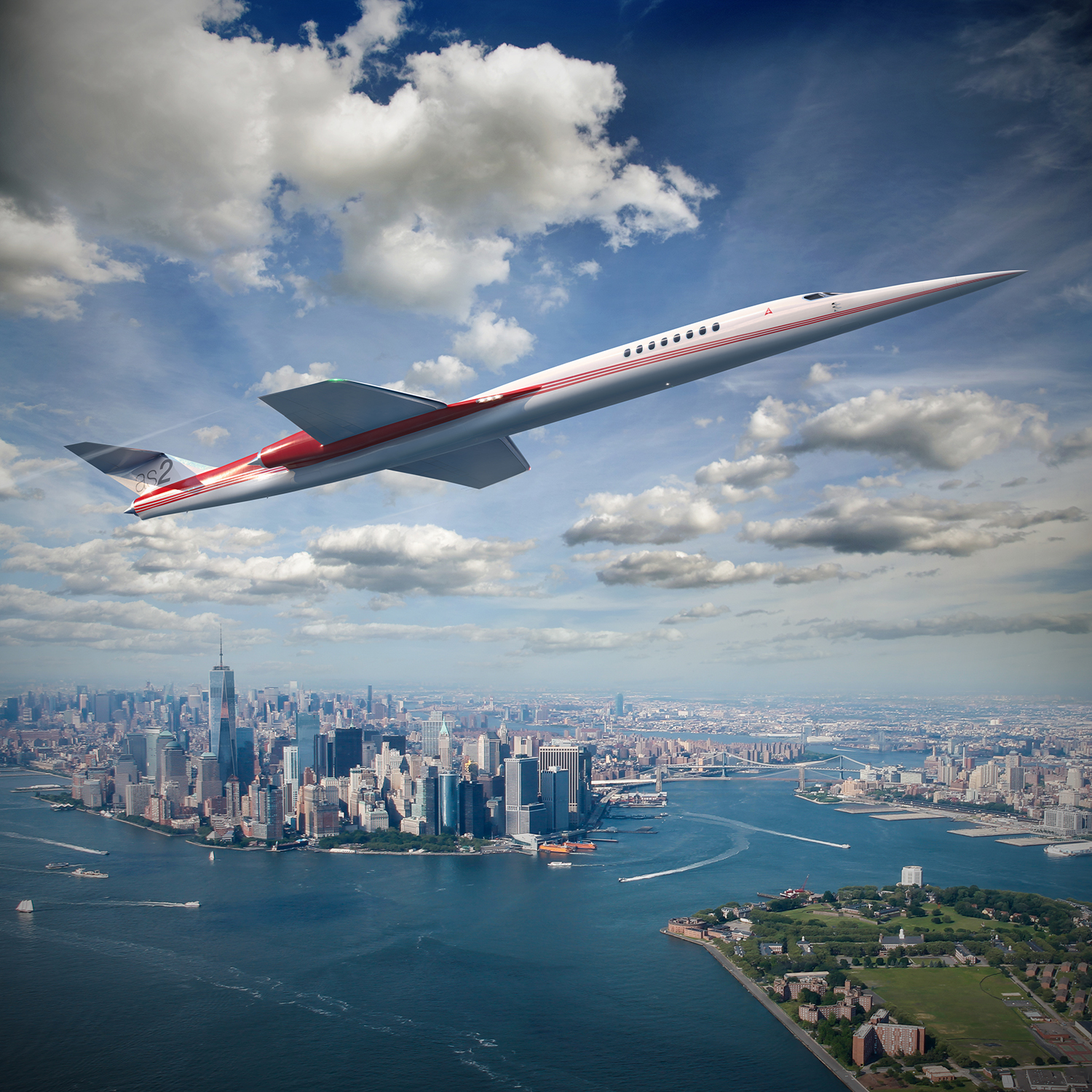 People are currently placing orders for the world's first private supersonic jet.