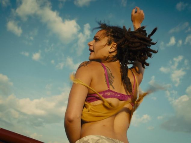 Sasha Lane in American Honey.