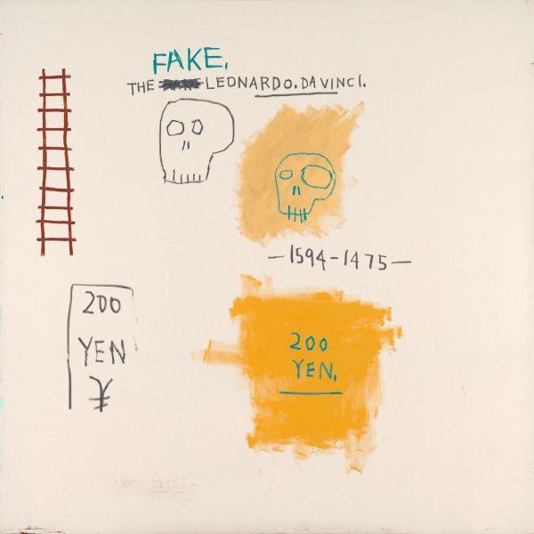 Jean-Michel Basquiat, Fake,1983.