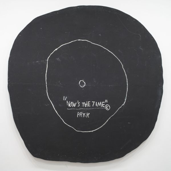 Jean-Michel Basquiat, Now's the Time, 1985.