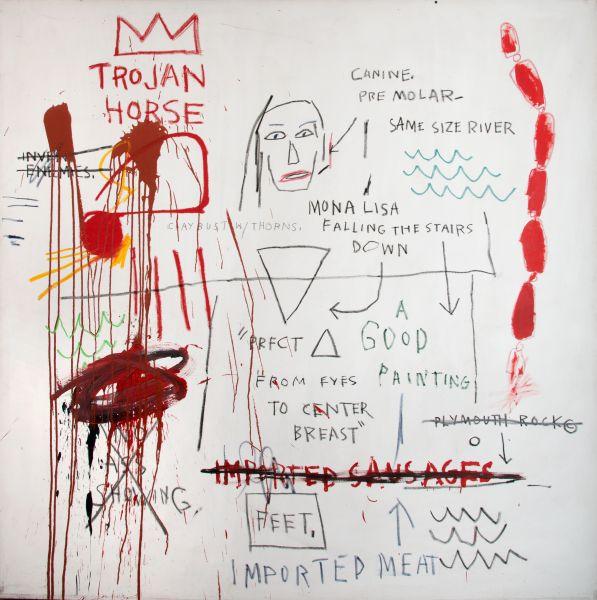 Jean-Michel Basquiat, Thesis, 1983.