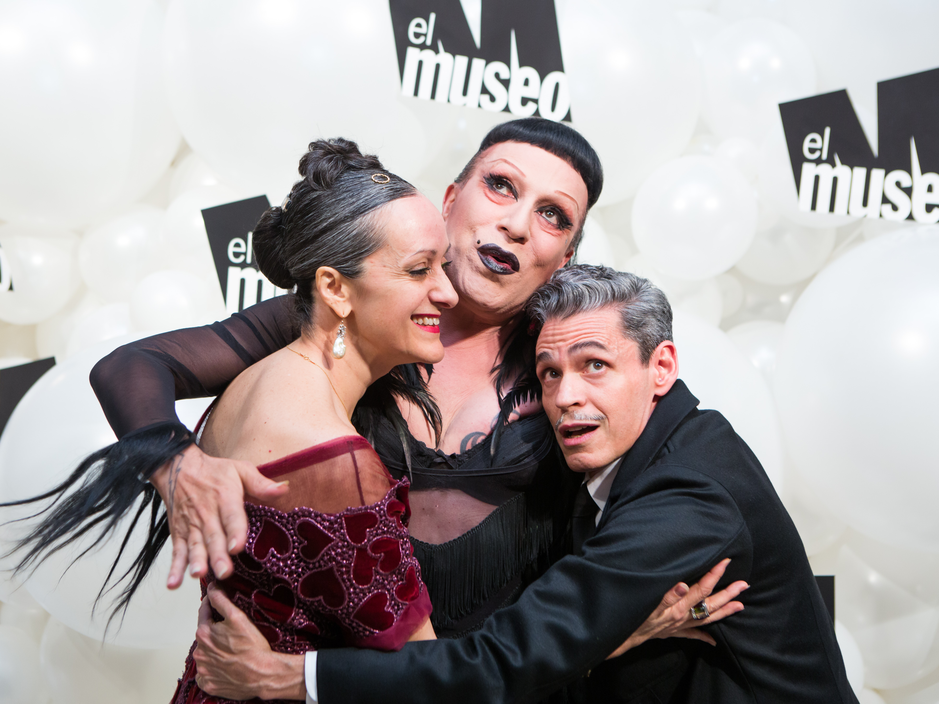 Isabel Toldeo, Joey Arias, Ruben Toldeo.