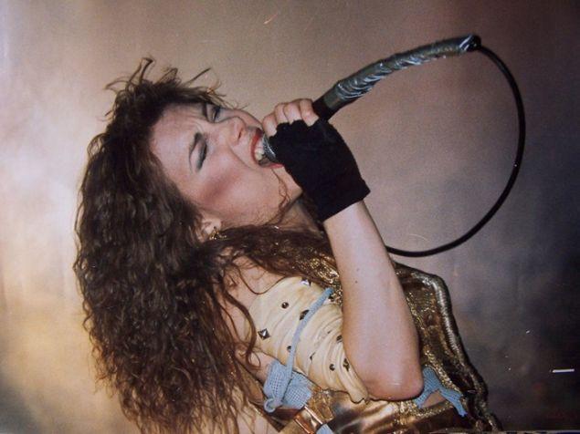 Lee Aaron in 1984.