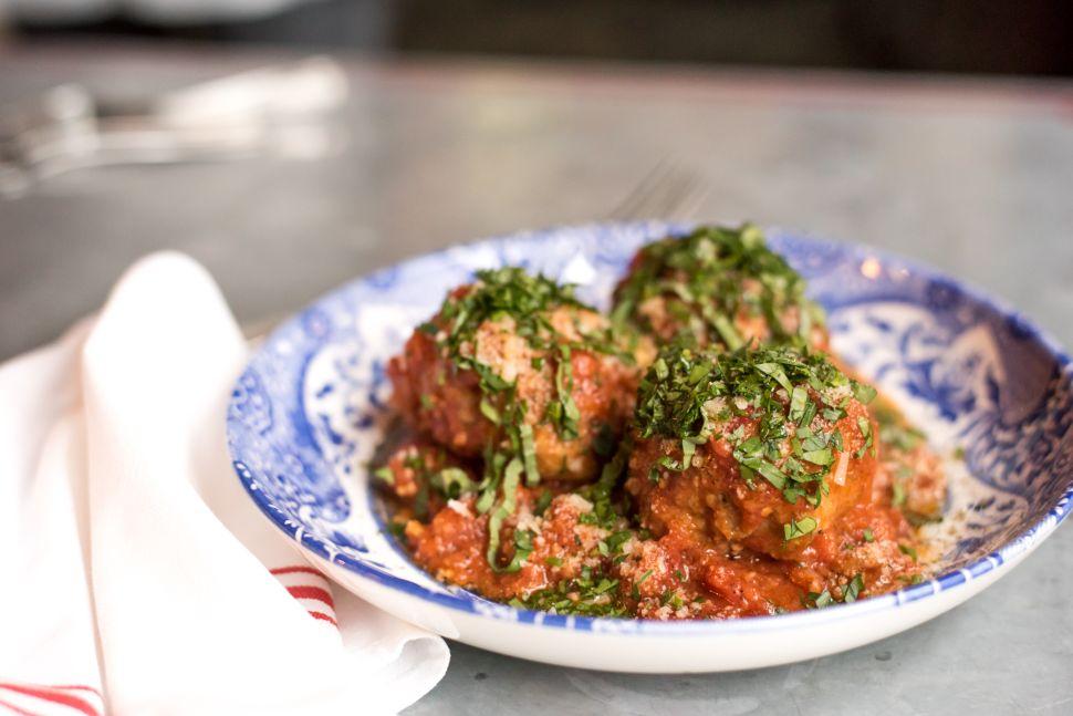 The off-menu meatballs