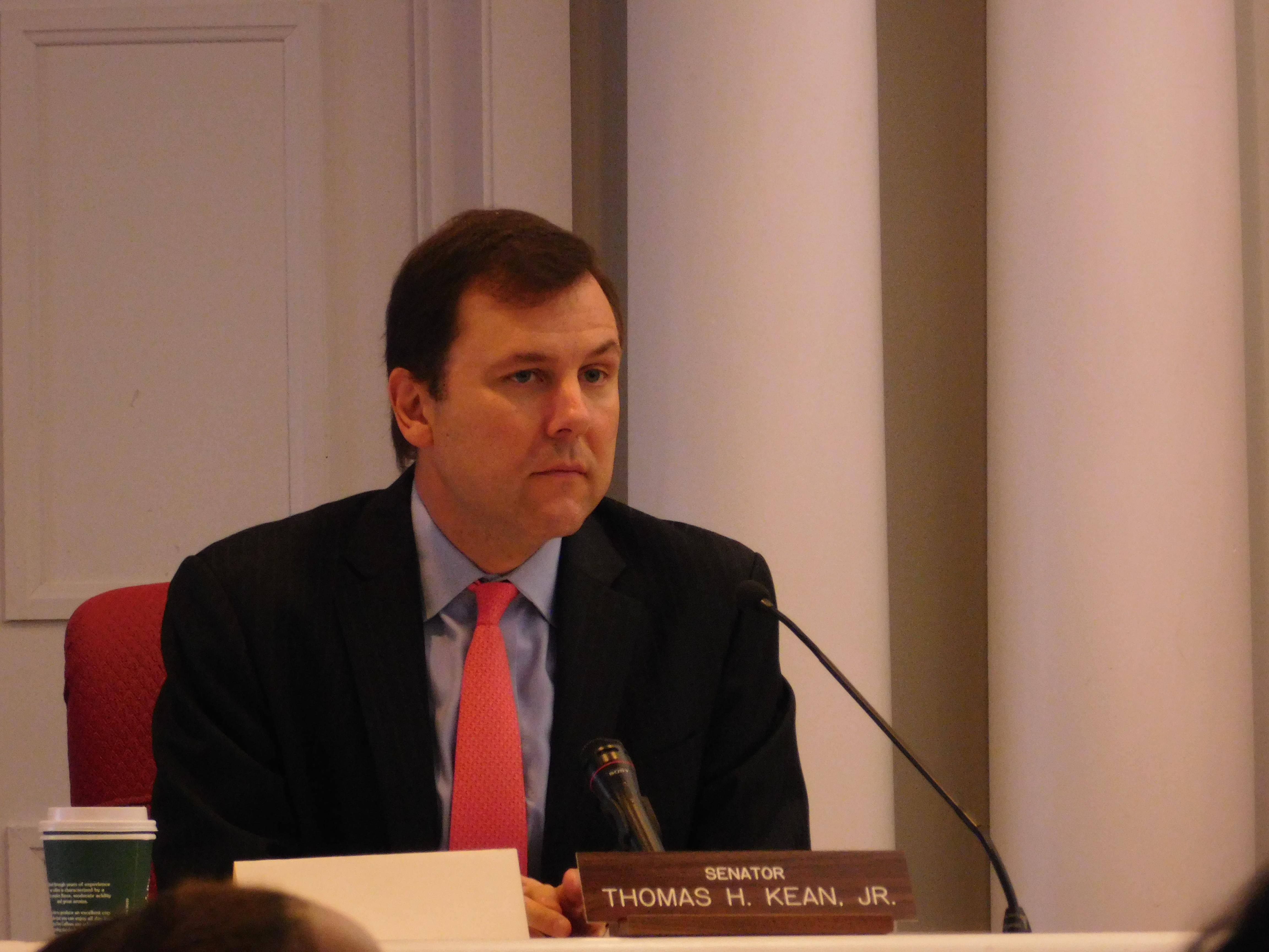 Tom Kean at Tuesdays hearing.