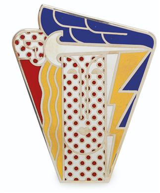 Roy Lichtenstein, Modern Head. Est. $2,000-3,000.