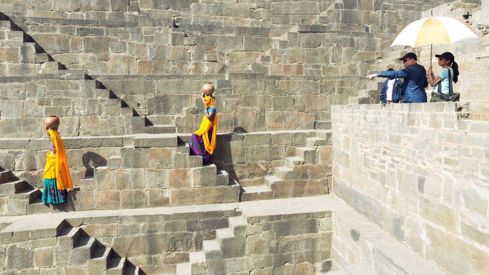 Steve McCurry in India.