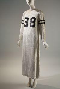 "Geoffrey Beene ""football jersey"" gown, Fall 1967"
