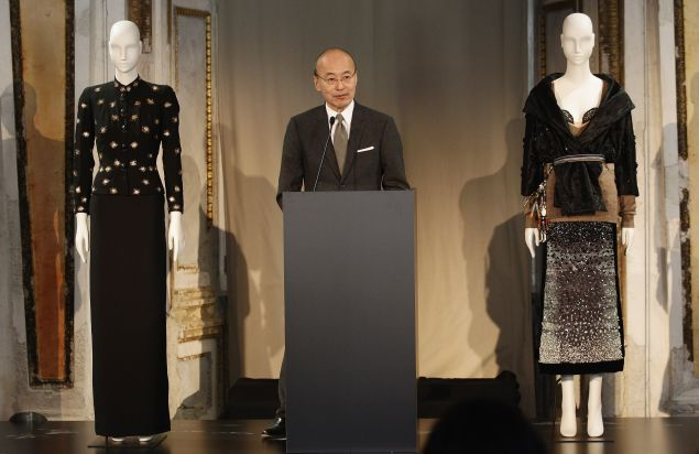 Harold Koda, Curator-in-Charge of the Costume Institute of the Met