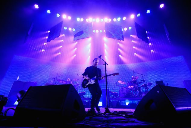 Thom Yorke of Radiohead performs at at Vector Arena on November 6, 2012 in Auckland, New Zealand.