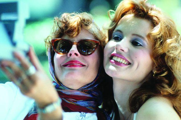 Susan Sarandon and Geena Davis.