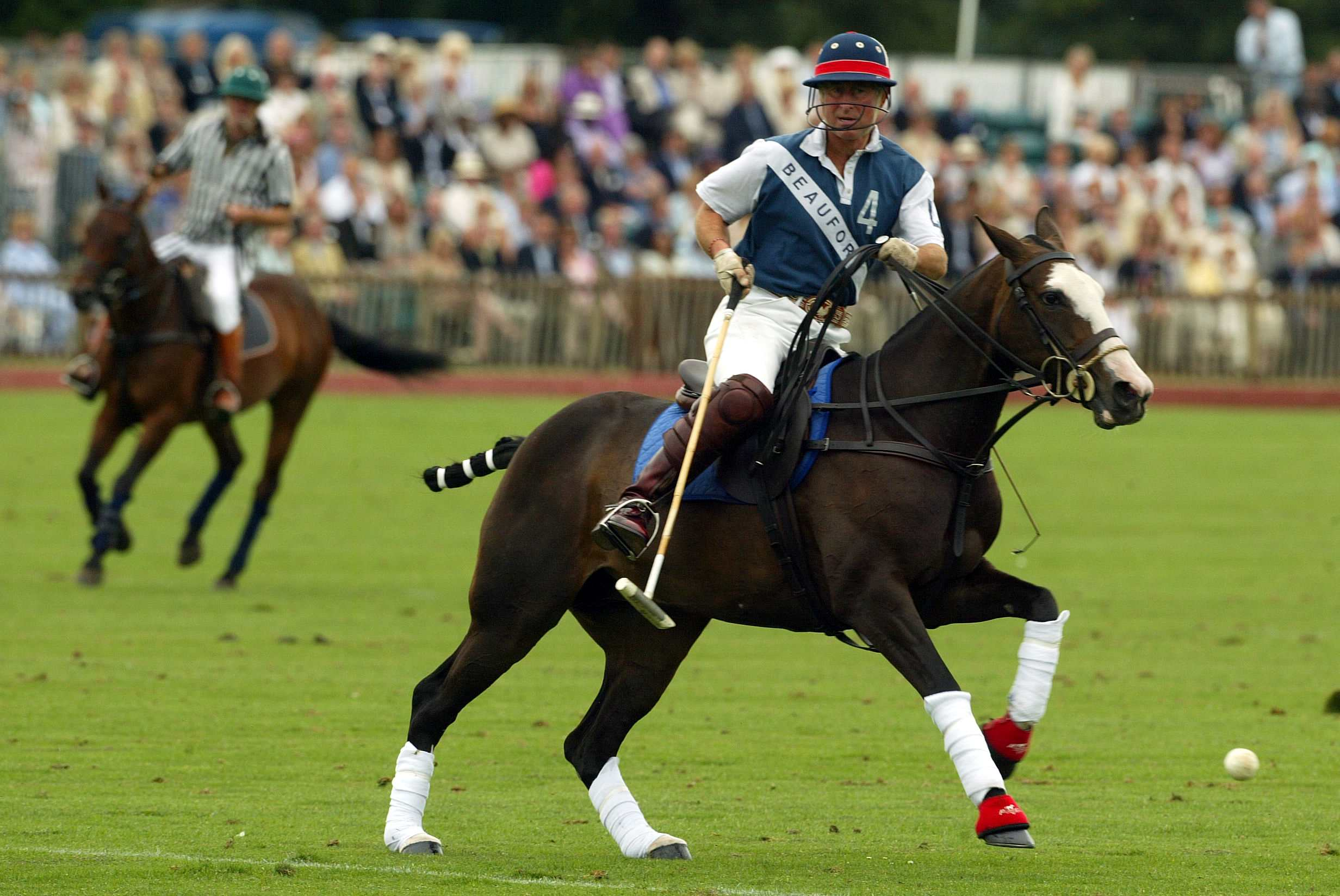 Prince Charles was known for playing polo in Florida.