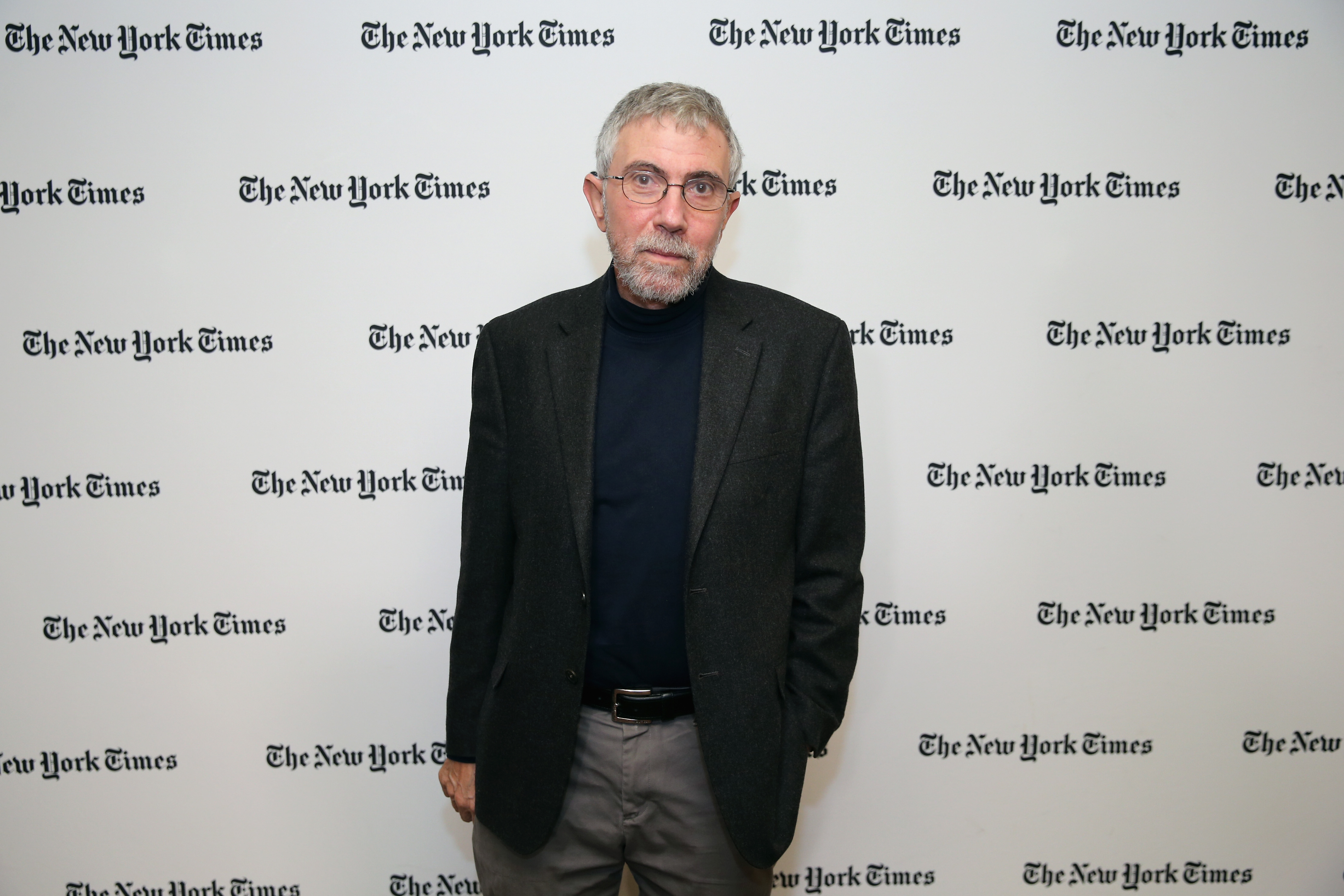 Nobel Prize-winning economist and New York Times Opinion columnist Paul Krugman.