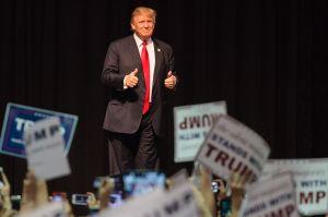 Donald Trump. AFP / Rob Kerr