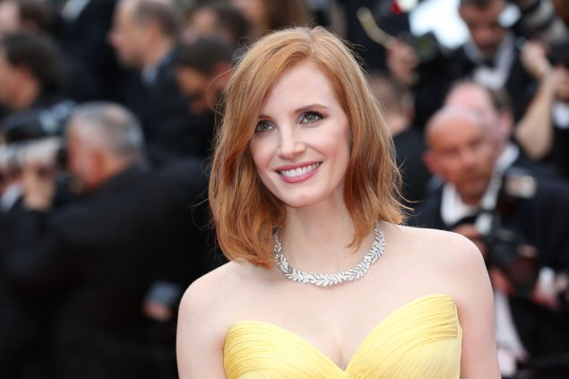 Academy Award-nominated actress Jessica Chastain is headed uptown.