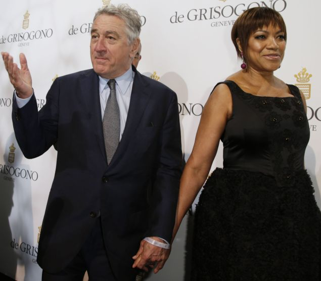 Robert De Niro and his wife Grace Hightower De Niro attend the De Grisogono Party on the sidelines of the 69th annual Cannes Film Festival.