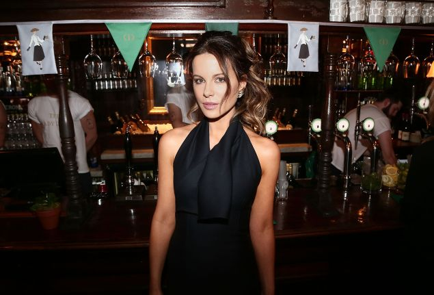 Kate Beckinsale at the Lady Dior Pub
