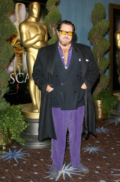 Actor Julian Schnabel arrives for the annual Academy nominees luncheon February 04, 2008 at the Beverly Hilton Hotel in Beverly Hills, California.
