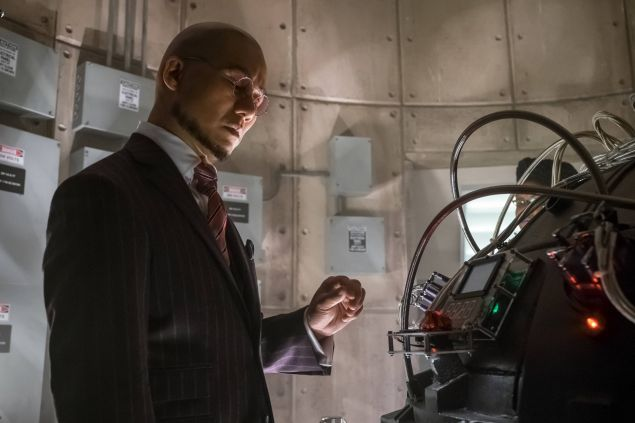 B.D. Wong as Hugo Strange.