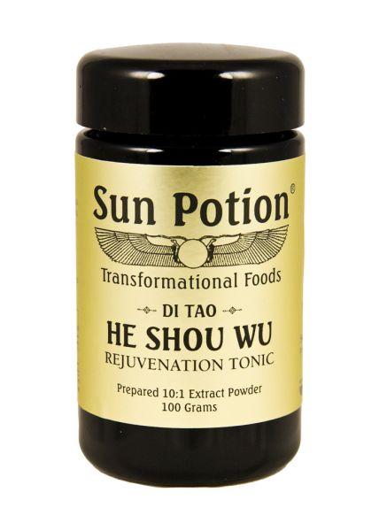 Sun Potion He Shou Wu, $55, Sunpotion.com