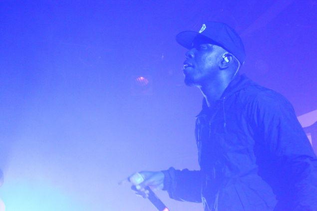 Dizzee Rascal at Music Hall of Williamsburg, as part of the Red Bull Music Academy