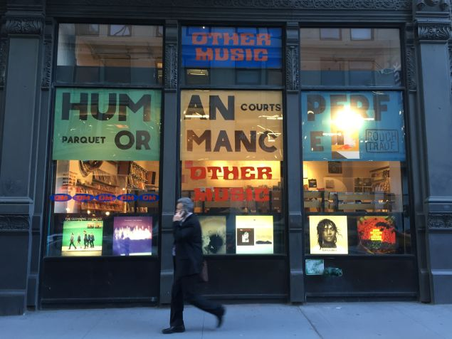A landmark for music lovers for 20 years, last week Manhattan's Other Music announced it would be closing its doors for good on June 25.
