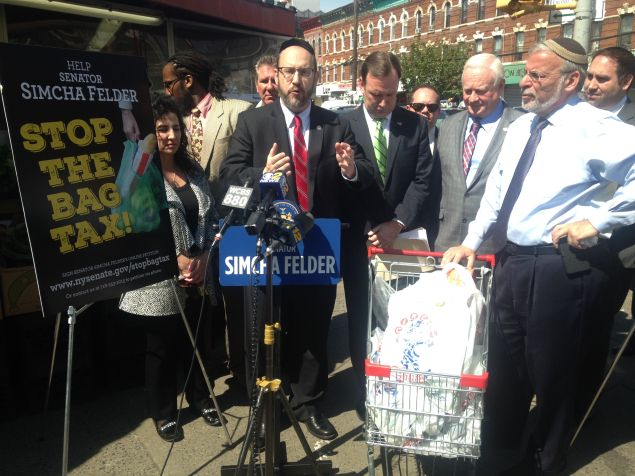 State lawmakers against the bag fees.