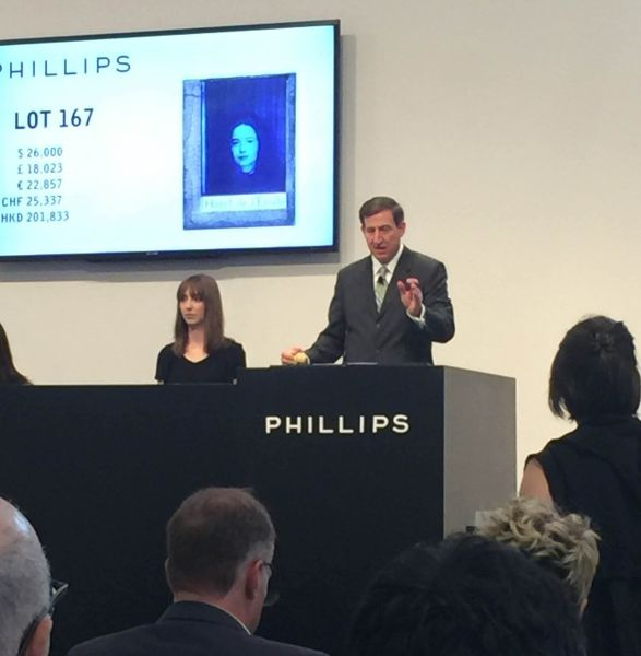 The Phillips 20th Century and Contemporary Art Day Sale, featuring a Joseph Cornell bidding war.