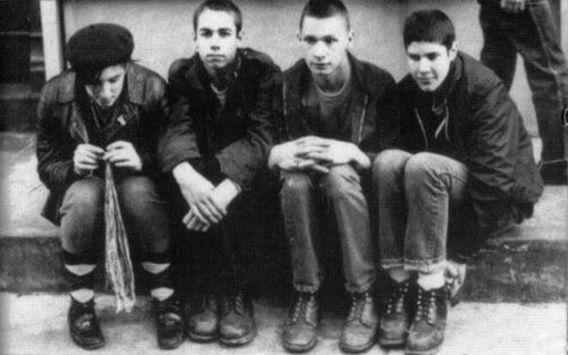 The Beastie Boys original lineup.