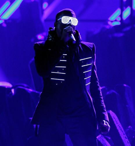 Kanye light up jacket
