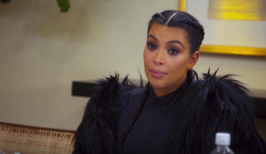 Kim Kardashian, wearing roughly 1300 dead rare birds.