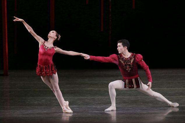 Rubies from JEWELS Fall Gala New York City Ballet Choreography George Balanchine © The George Balanchine Trust.