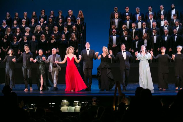 """Master Voices presents """"Dido and Aeneas"""", New York City Center, April 28, 2016."""