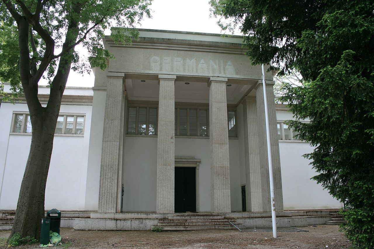 The German Pavilion at the Venice Architecture Biennale.