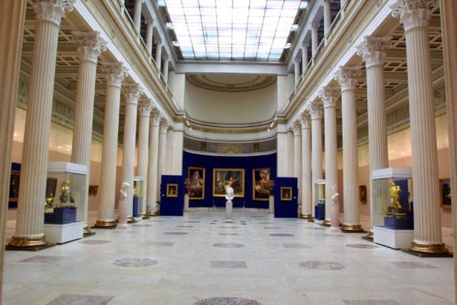 Pushkin Museum in Moscow.
