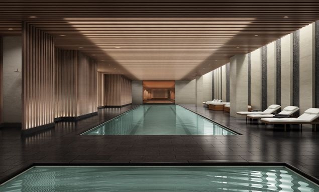 Is this David Rockwell-designed 75-foot pool 'wow' factor enough?